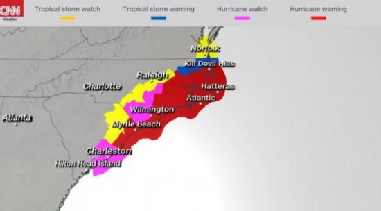 恐怖!美国官员披露:强烈飓风预计路径上有6个核电站