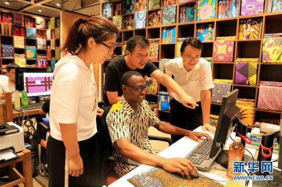"""#(社会)(1)山东滨州:非洲特色产品""""中国造"""""""