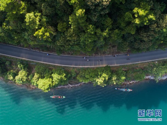 """(环境)(3)千岛湖""""公益船队""""共护""""一湖碧水"""""""