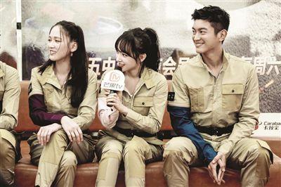 《勇敢的世界》最后一站录制 杜江庆生陈乔恩哭了