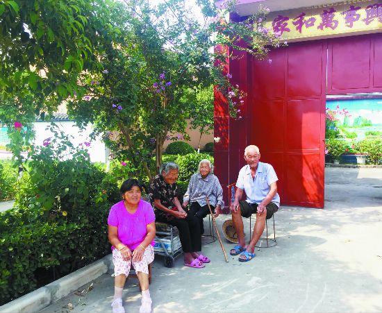 """环境整治让沛县高庄从""""落后村""""变身美丽乡村"""