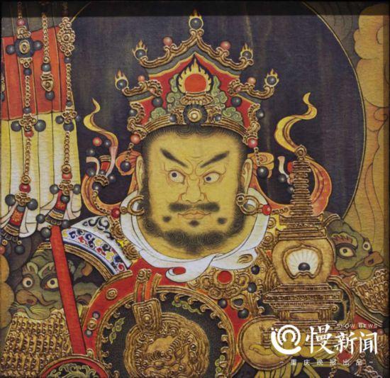 四大天王-东方持国天王像