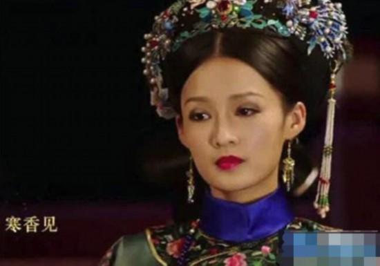 《如懿传》中嫔妃们的头饰,只有公主的头饰最像牛魔王