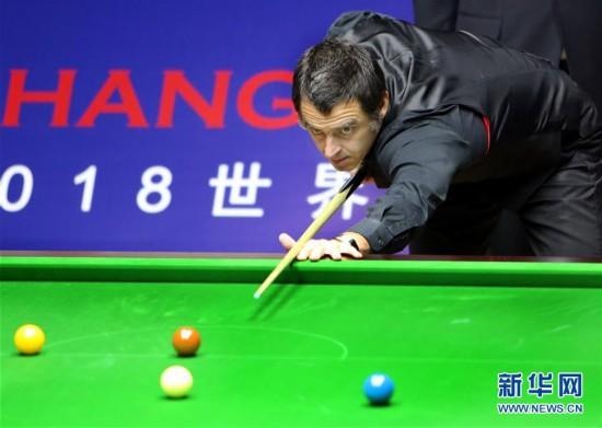 (体育)(5)斯诺克――上海大师赛:奥沙利文夺冠