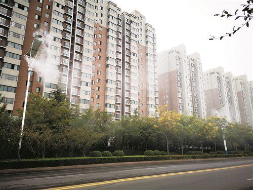 灯杆能喷雾 徐州沛县首创城市智能空气净化系统