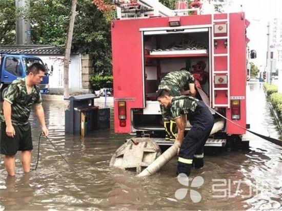 特大暴雨后12小时:江苏常熟众志成城全力救灾