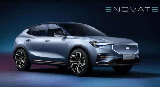 电咖ENOVATE首款车型官图发布 明年上海车展上市