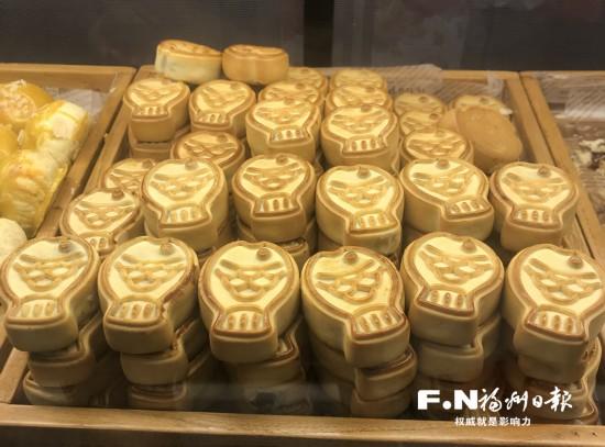 这是福州人的月饼:圆饼和鲤鱼形状的糕点与众不同