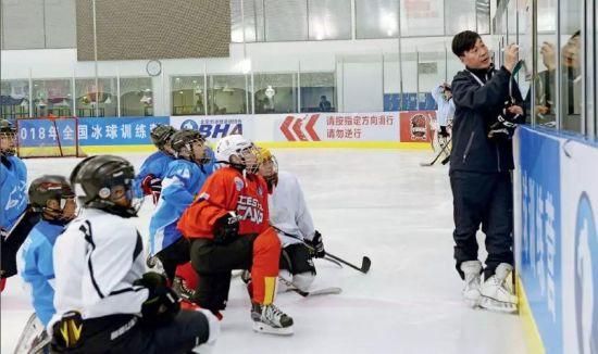 """冰球的热与豪:""""一对一""""私教课一小时就要600元"""