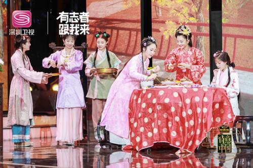 《红楼梦》蟹宴盛景复刻还原 图片由主办方提供