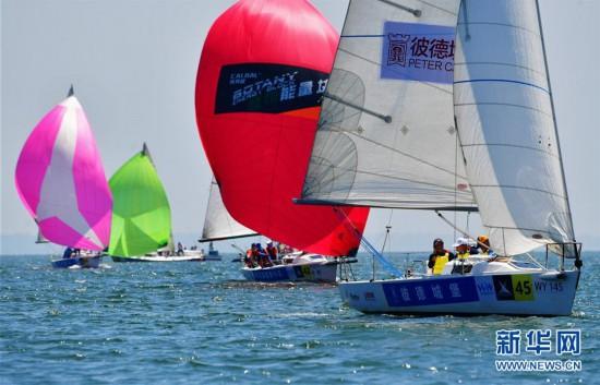 第十四届中国俱乐部杯帆船挑战赛厦门开赛