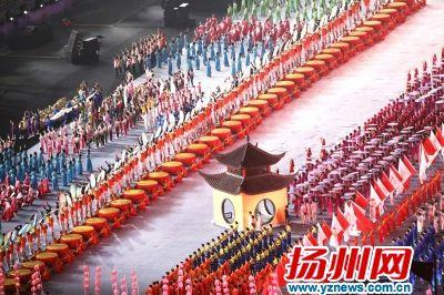 盘点第十九届江苏省运会开幕式十大震撼瞬间