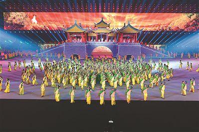 第十九届江苏省运会在扬州开幕 约3.5万人参赛