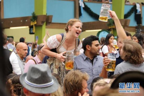 (XHDW)(1)第185届慕尼黑啤酒节开幕