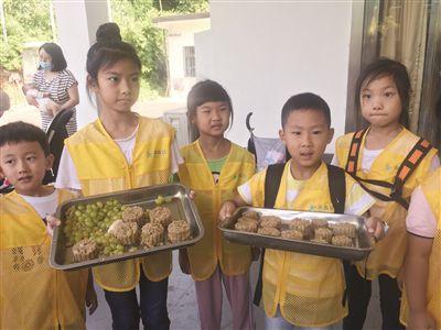 南京红山动物园邀请小朋友为动物自制月饼