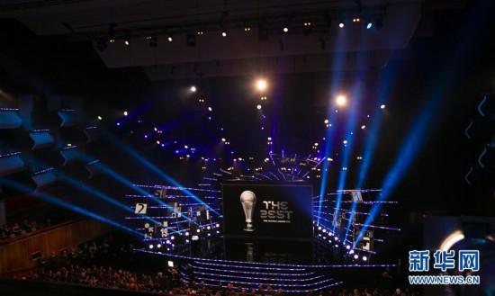 (体育)(12)足球――2018国际足联年度颁奖典礼在伦敦举行