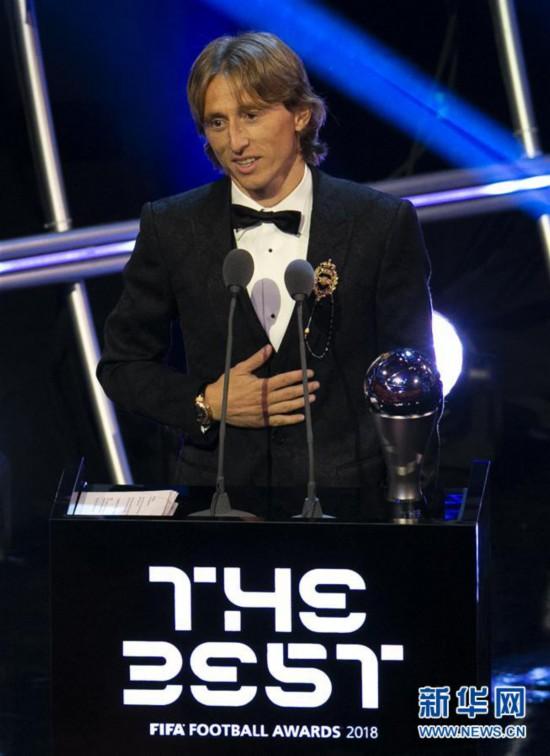 (SP)BRITAIN-LONDON-THE BEST FIFA FOOTBALL AWARDS