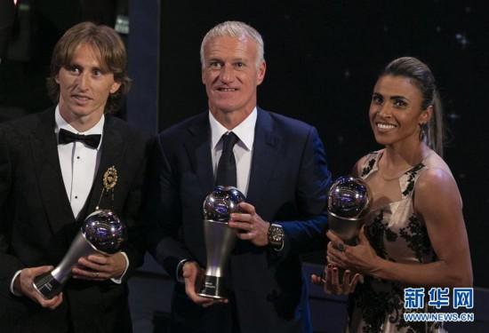 (体育)(5)足球――2018国际足联年度颁奖典礼在伦敦举行