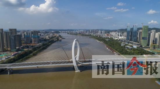 柳州白沙大桥9月28日将通车 大桥全长1920米(图)