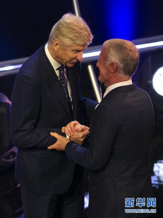 (体育)(7)足球――2018国际足联年度颁奖典礼在伦敦举行