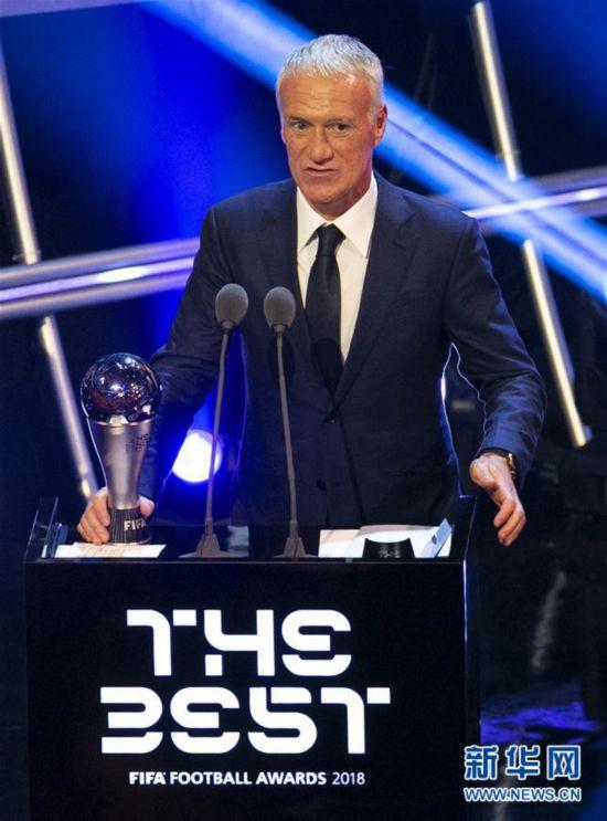 (体育)(1)足球――2018国际足联年度颁奖典礼在伦敦举行