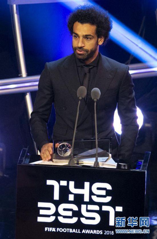 (体育)(3)足球――2018国际足联年度颁奖典礼在伦敦举行