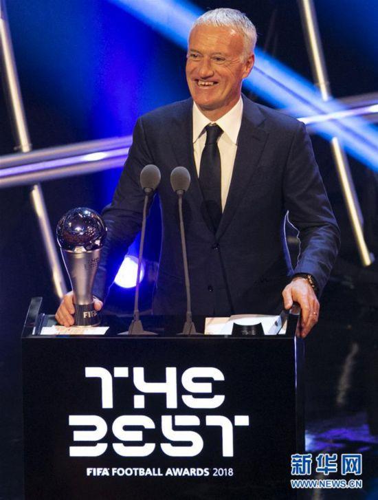 (体育)(2)足球――2018国际足联年度颁奖典礼在伦敦举行