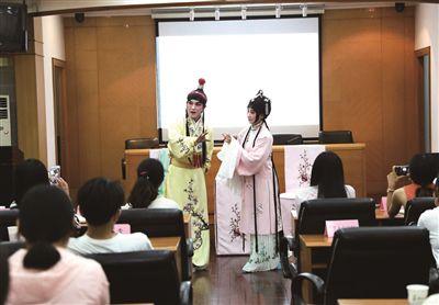 古本昆剧《红楼梦传奇》在葡京娱乐网址大学首次公演