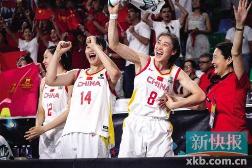 女篮世界杯中国击败日本进八强 主帅:现在我们