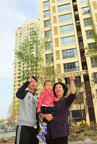 天津下辛庄村还迁房项目首批50户村民选新房