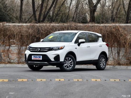 广汽乘用车 传祺GS3 2017款 150N 手动舒适版