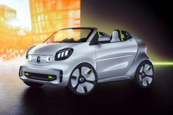 SmartForEase纯电动概念车将亮相巴黎车展