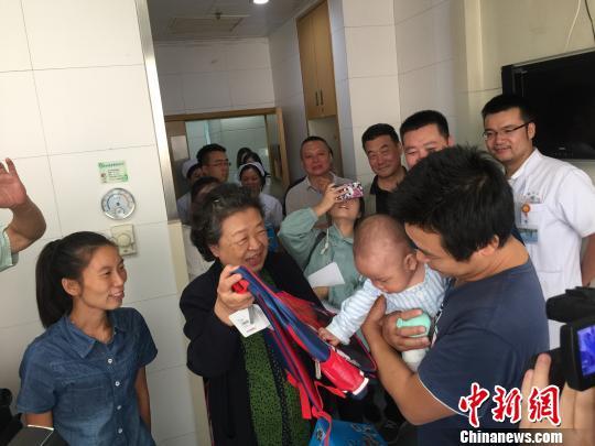 中华慈善总会红星基金救助湘西革命老区先心病患儿