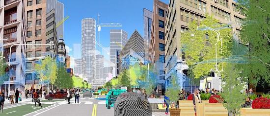 数据共享 缓解城市交通拥堵