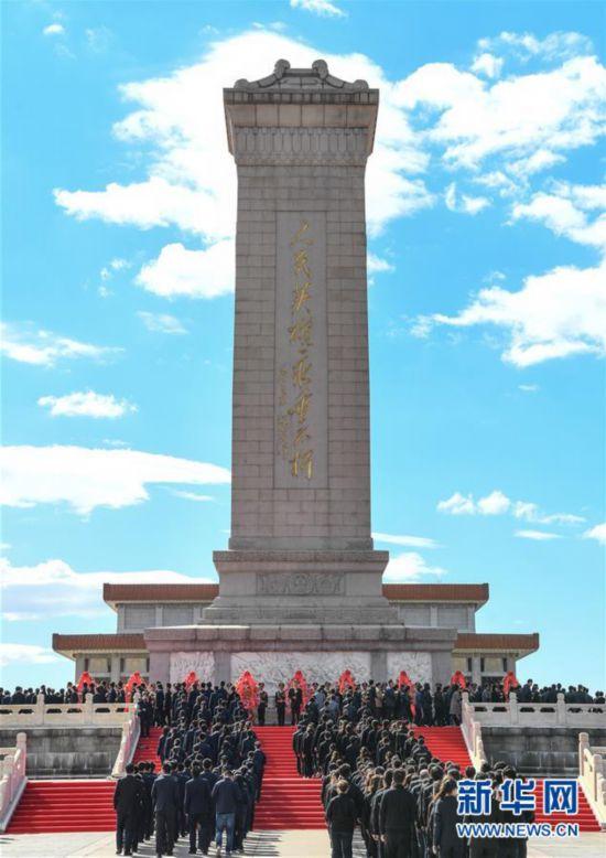 (新华全媒头条・图文互动)(1)致敬英烈 捍卫荣光――写在英雄烈士保护法实施后首个烈士纪念日