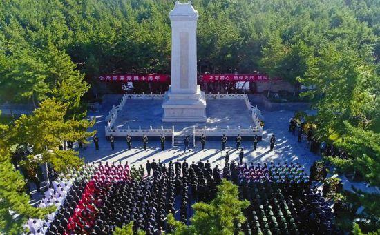 陕西省各地举行烈士纪念日公祭活动