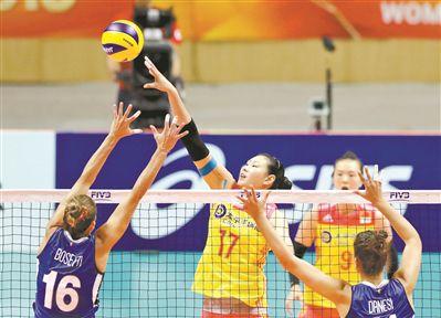 女排世锦赛遭意大利逆转中国女排无缘小组第一延津一中
