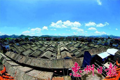 惠东稔山范和古村落古色古香。