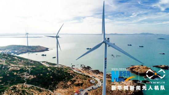 位于福建泉州市惠安县小岞镇的风车岛三面环海,景色迷人,国庆黄金周期