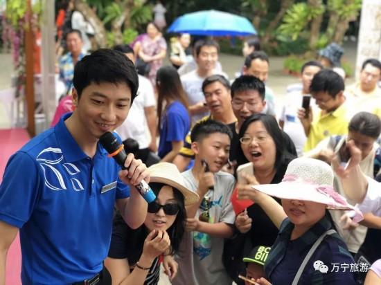 国庆长假万宁接待游客22万人次 旅游总收入1.