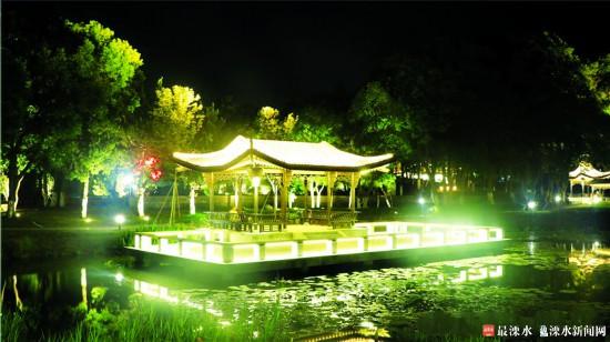 南京溧水提档升级公园规划 让市民畅享休闲之乐