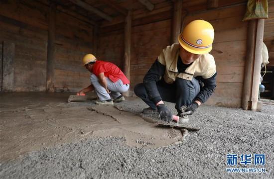 #(社会)(1)贵州丹寨: 农村住房保障建设让贫困户安居