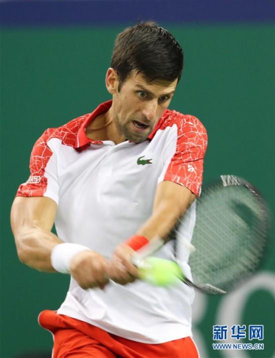(体育)(7)网球――上海大师赛:焦科维奇晋级
