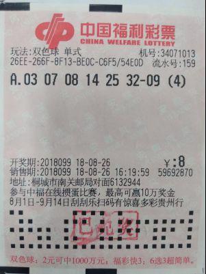 安庆双色球1金11银中奖彩票3