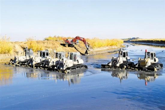 沙湖星海湖水质治理初显成效
