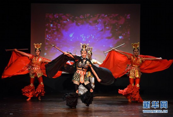 (XHDW)(1)孔子学院武术巡演在土耳其大学开演