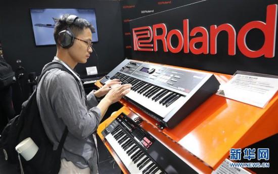 (聚焦进口博览会)(5)国际乐器展览会在沪开幕