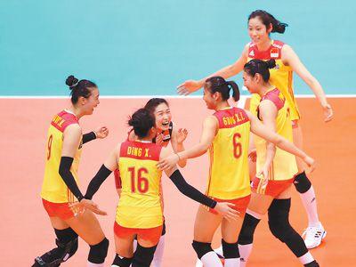 中国队锁定六强席位(动感2018)