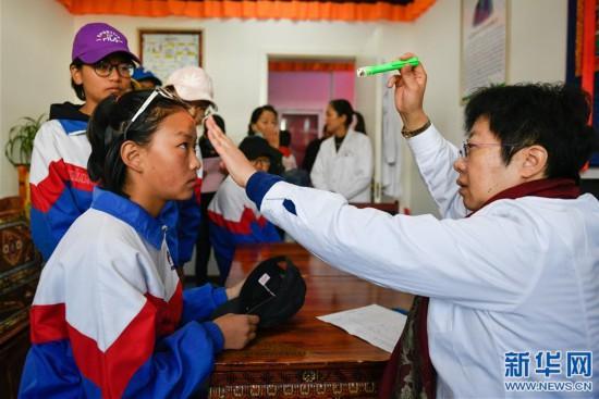 """(新华网)(2)""""耳聪目明计划""""在拉萨建立首个视听医疗点"""