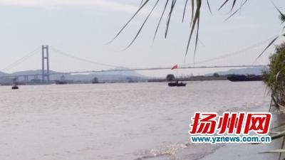 长江扬州段江蟹开捕啦 一条渔船一天可捕捞10多斤